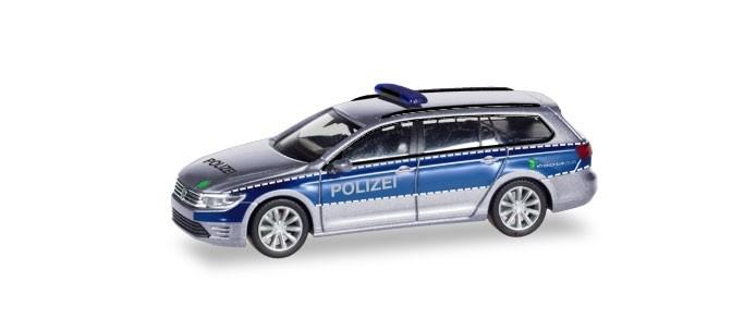 Herpa VW Passat Variant GTW Polizei Hamburg
