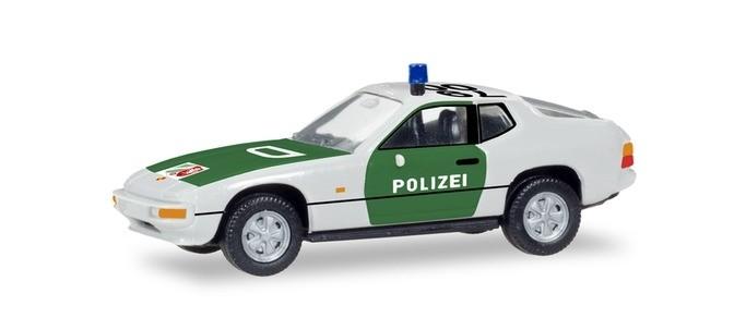 Herpa Porsche 924 Polizei NRW, NH 11-12/18