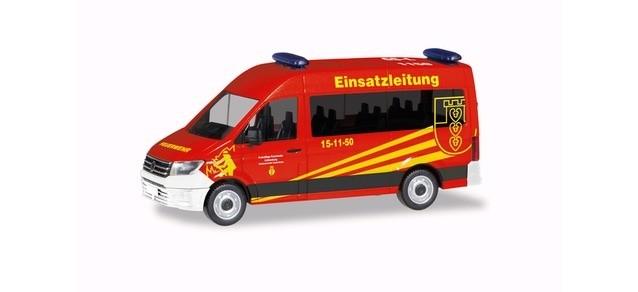 Herpa VW Crafter ELW Feuerwehr Liebenburg/Goslar, NH 01-02/19 -Einzelstück-