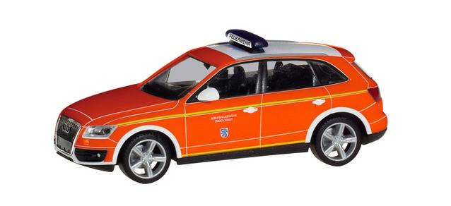 "Herpa Audi Q5 KDOW ""Feuerwehr Ingolstadt"", NH 03-04/19"
