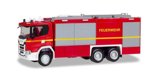 "Herpa Scania CG 17 Empl ULF ""Feuerwehr"" (geänderter Aufbau), NH 05-06/19"
