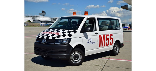"Herpa VW T6 Multivan ""Fraport Marshalling"" , NH 05-06/19"