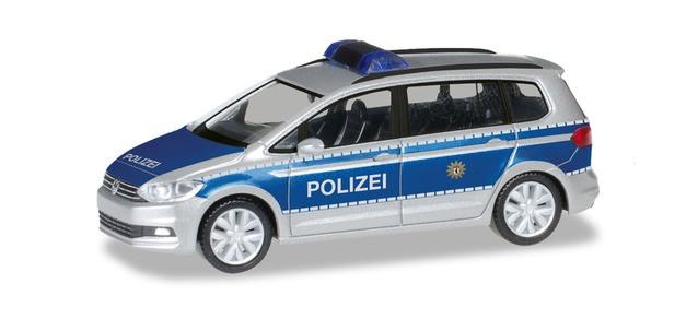 "Herpa VW Touran ""Polizei Berlin"", NH 05-06/19"