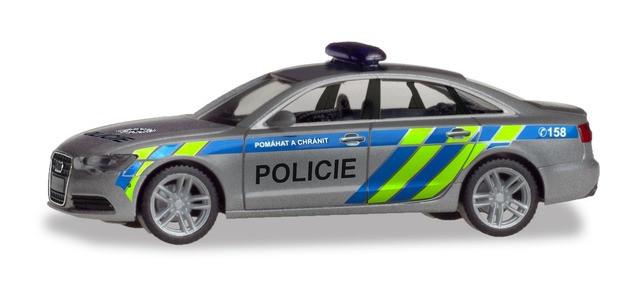 "Herpa Audi A6 Limousine ""Polizei Prag"", NH 05-06/19"
