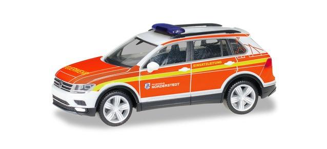 "Herpa VW Tiguan KDOW ""Freiwillige Feuerwehr Norderstedt"", NH 03-04/19"