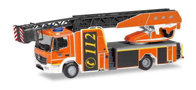 """Herpa ,MB Atego Rosenbauer DLK L32A """"Feuerwehr Holzminden"""" NH 05-06/19;"""