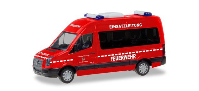 """Herpa VW Crafter Bus HD """"Einsatzleitung Feuerwehr Eschwege"""", NH 07-08/19 (Einzelstück)"""
