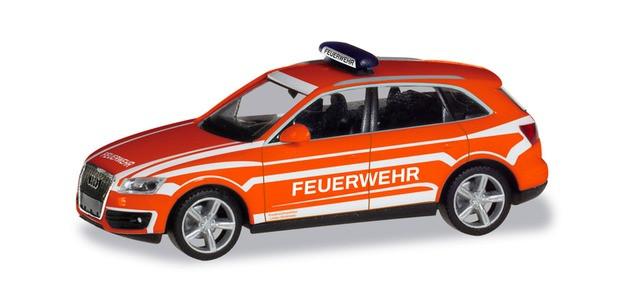 """Herpa Audi Q5 KdoW """"Feuerwehr Lindau"""", NH 09-10/19,(Vorbestellung / Modell noch nicht lieferbar !!)"""