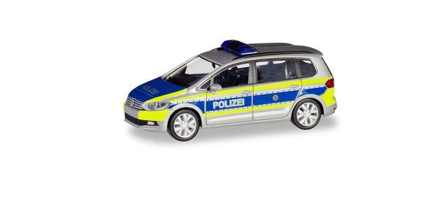 """Herpa VW Touran """"Polizei NRW"""", NH 11-12/19,(Vorbestellung / Modell noch nicht lieferbar !!!)"""