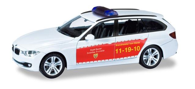 """Herpa BMW 3er Touring """"Feuerwehr Goslar"""", NH 11-12/19,(Vorbestellung / Modell noch nicht lieferbar !!!)"""
