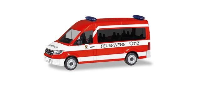 """Herpa VW Crafter Bus """"MZW Feuerwehr Nürnberg"""", NH 01-02/20,(Vorbestellung / Modell noch nicht lieferbar !!!)"""