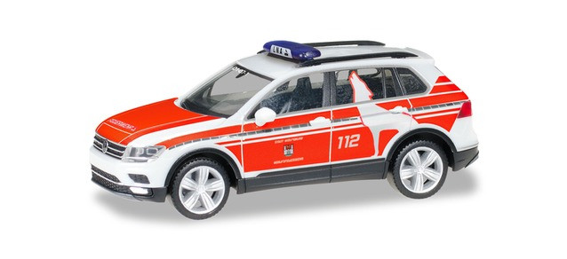"""Herpa VW Tiguan """" NEF Feuerwehr Wolfsburg """", NH 05-06/20,(Vorbestellung / Modell noch nicht lieferbar !!!)"""