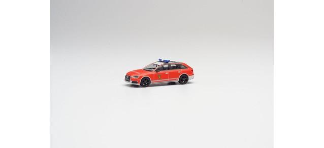 """Herpa Audi A4 Avant """"  Feuerwehr Cadolzburg """", NH 05-06/20,(Vorbestellung / Modell noch nicht lieferbar !!)"""