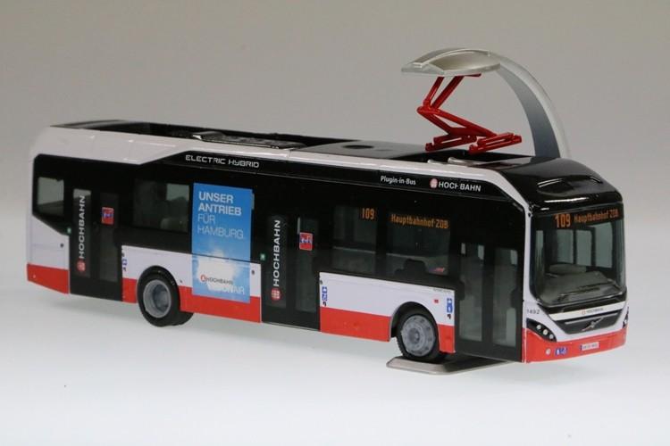 Holland-Oto Volvo PHEV 1492 Hochbahn m. Trafficboards, Linie 109 -Einzelstück-