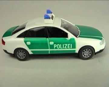 Wiking - Polizei - Audi A6 (Restmenge)
