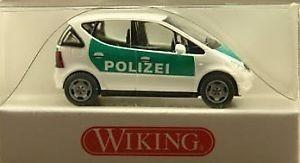 Wiking Mercedes Benz A-Klasse Polizei (Restmenge)