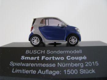 Busch Sondermodell Smart Fortwo Coupé, Spielwarenmesse 2015 -Einzelstück-