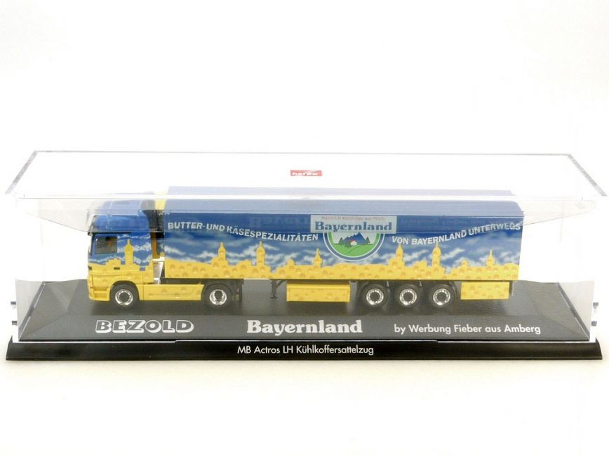 Herpa Mb Mercedes Actros Lh Bayernland Bezold Pc Vitrine