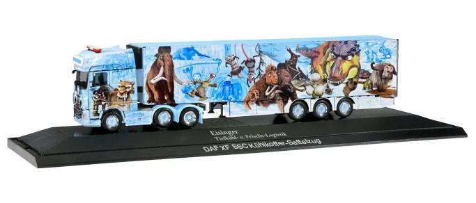 "Herpa DAF XF SSC 6x2 Kühlkoffer-Sattelzug ""Eisinger / Eiszeit-Truck"", PC"