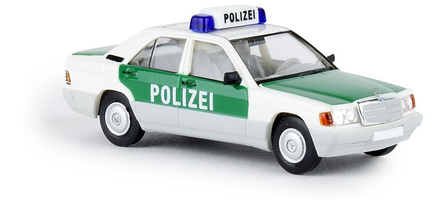 """Brekina MB 190 E """"Polizei Hamburg"""", NH 1Q/2019"""