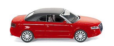 Wiking Audi A 4 Cabriolet misanorot -Einzelstück-