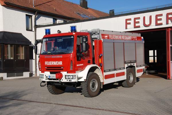 Rietze IVECO AluFire 3 Rüstwagen FW Neumarkt i.Opf. -Einzelstück-