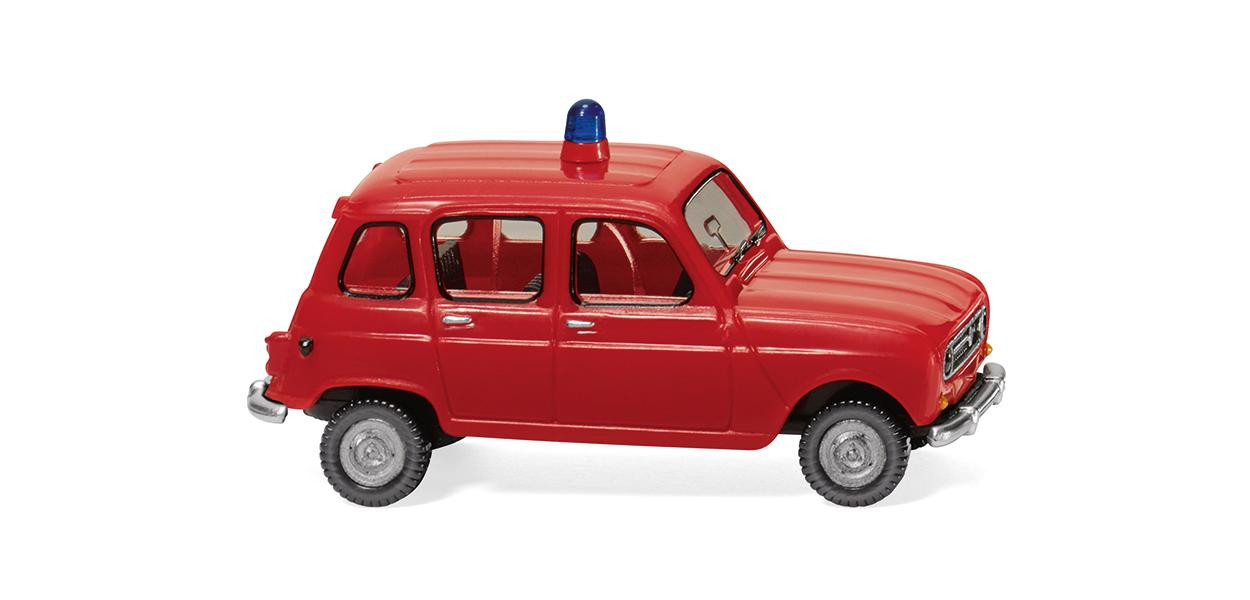 Wiking Renault R4 Feuerwehr NH 04/19, (Vorbestellung / Modell noch nicht lieferbar !!)