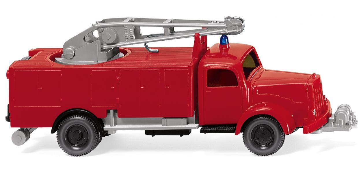 Wiking MB L 5000 RW Kran Feuerwehr NH 04/19,