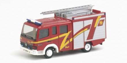 Herpa MB Atego LF 10/6 Feuerwehr 'Ziegler' -Einzelstück-