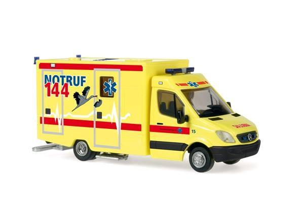 Rietze MB Sprinter 06 RTW Kantonsspital Aarau (CH)