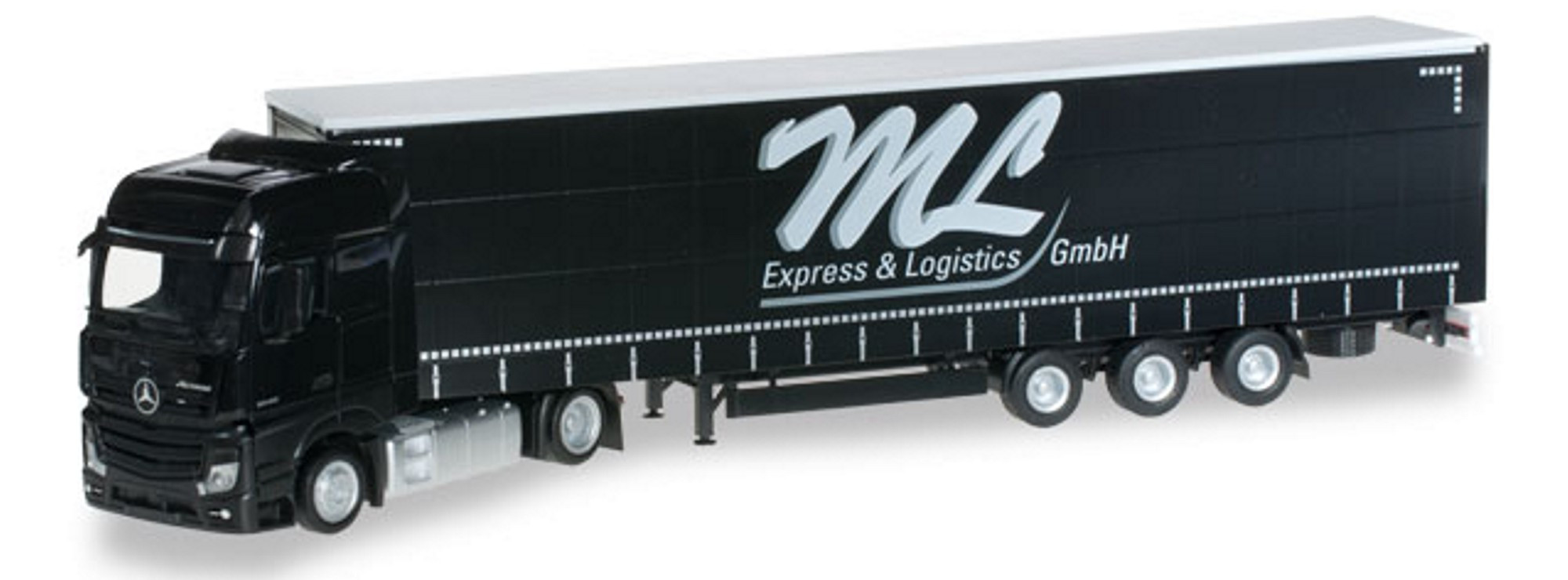 Herpa MB Actros Bigspace JuGaPlSzg ML Express und Logistic (Einzelstück)