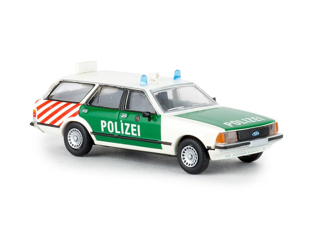 "Brekina Ford Granada Turnier "" Polizei Berlin "", NH 03-04/20"