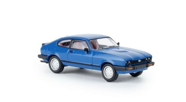 Brekina Ford Capri III blau