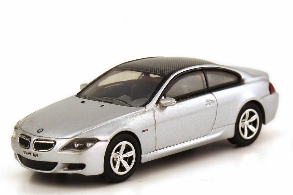 Busch/Ricko BMW M6 silber-metallic -Einzelstück-