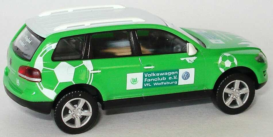 "Wiking VW Touareg Facelift ""Volkswagen Fanclub e. V. VfL Wolfsburg"
