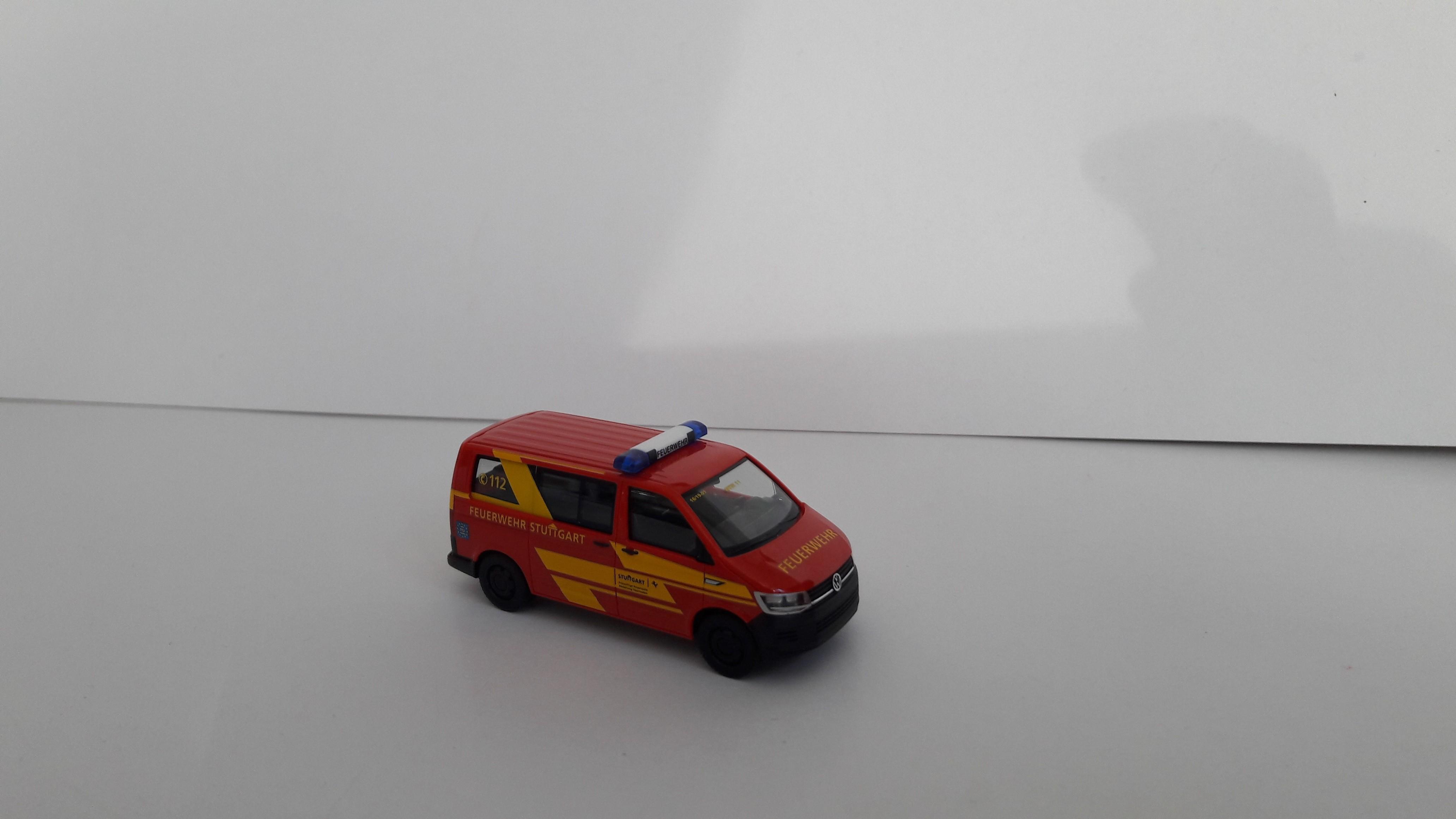 Herpa VW T6 Feuerwehr Stuttgart, Sondermodell