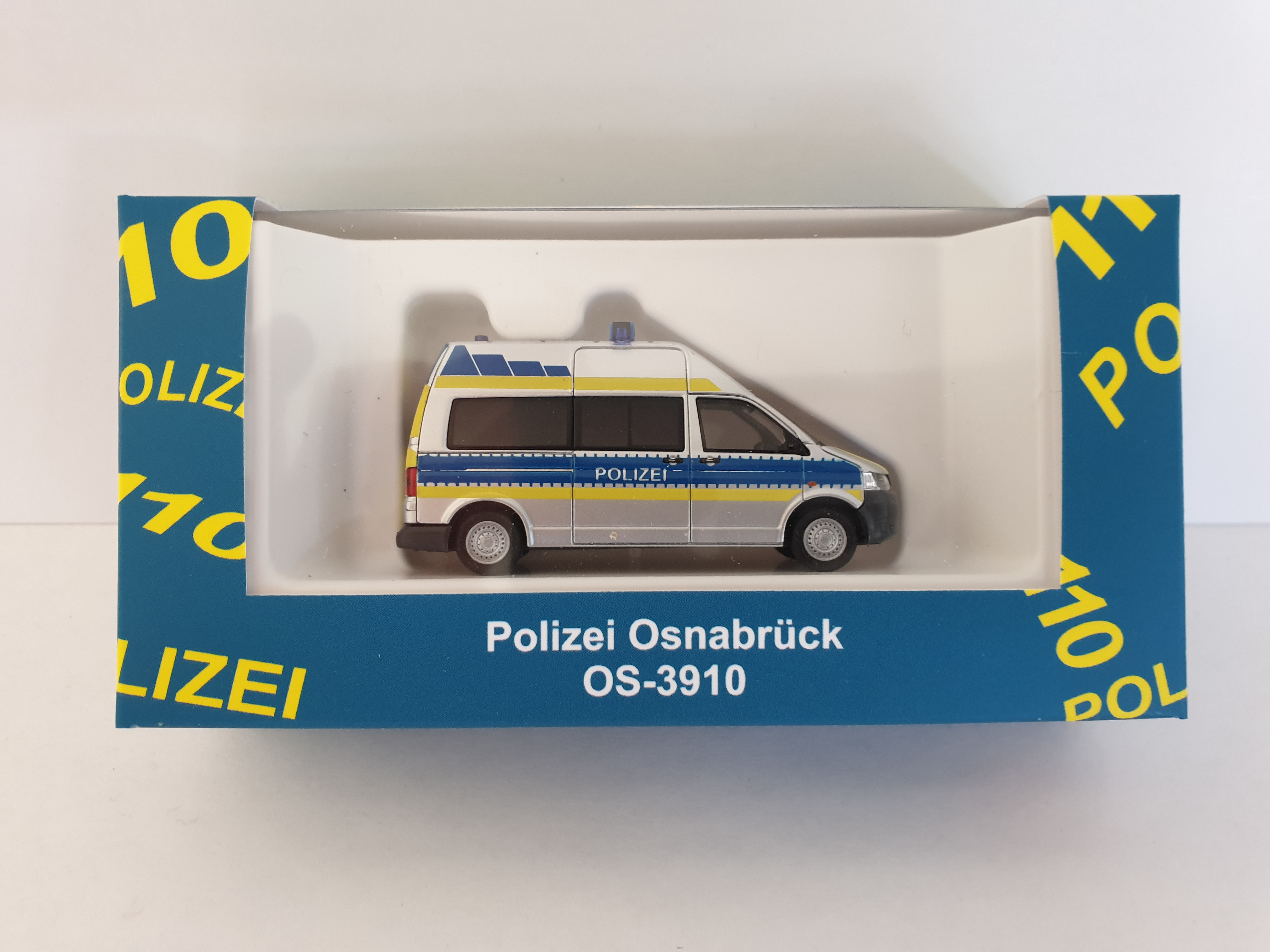 Rietze VW T5 HD Polizei Osnabrück,Sondermodell