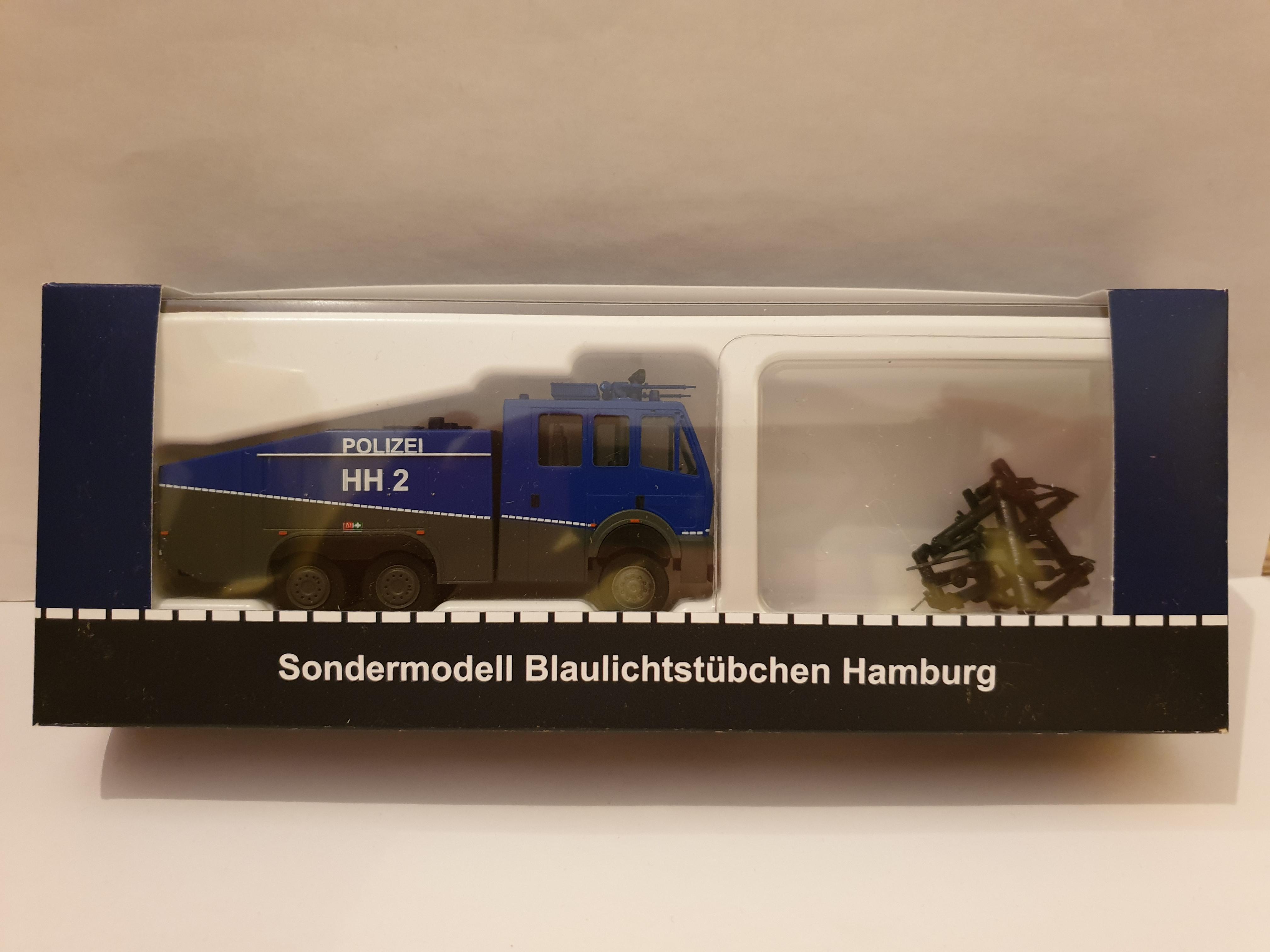 Rietze MB WaWe 9000 Polizei Hamburg HH 2
