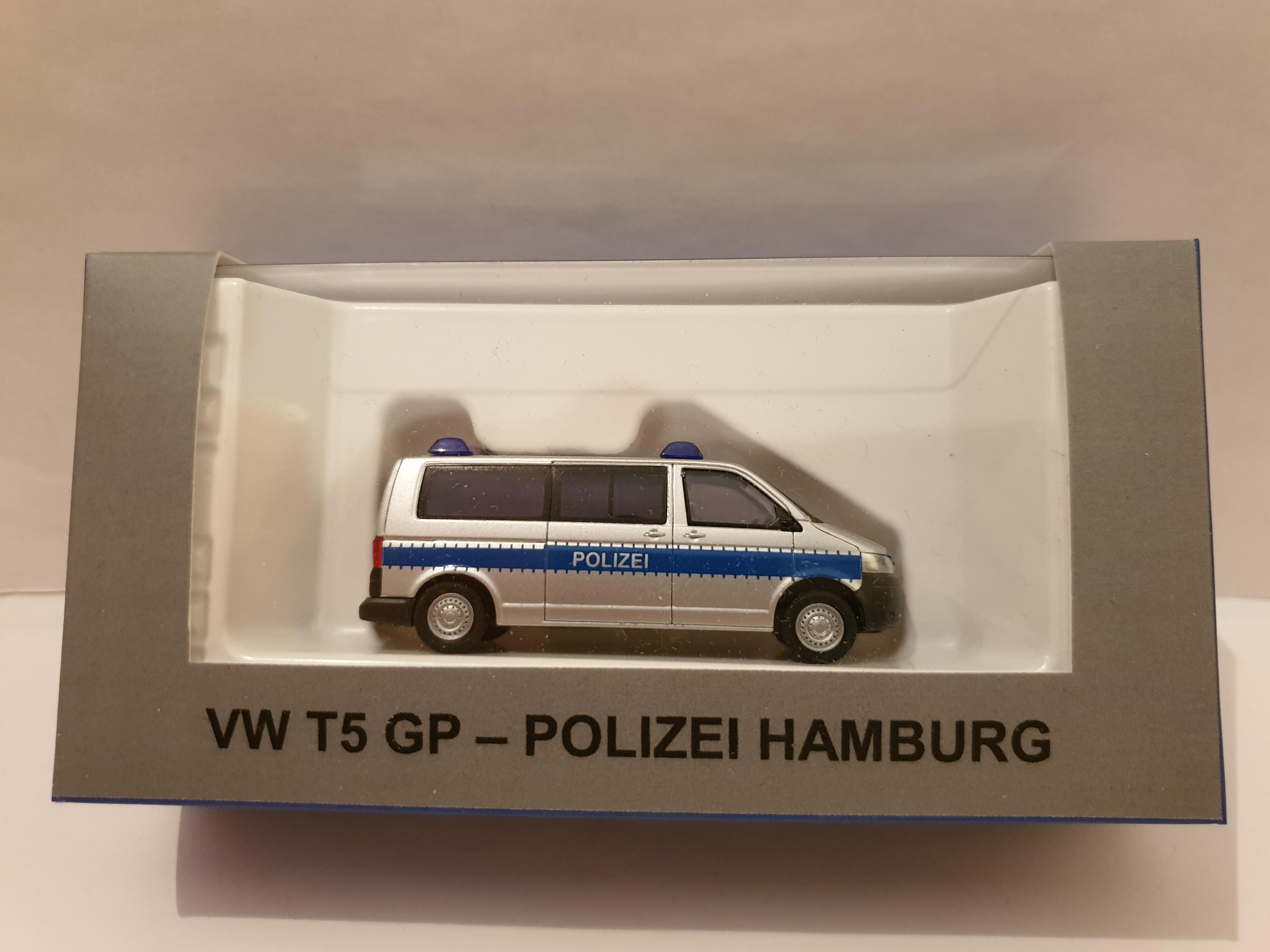 Rietze VW T5 GP Polizei Hamburg ( Sondermodell )