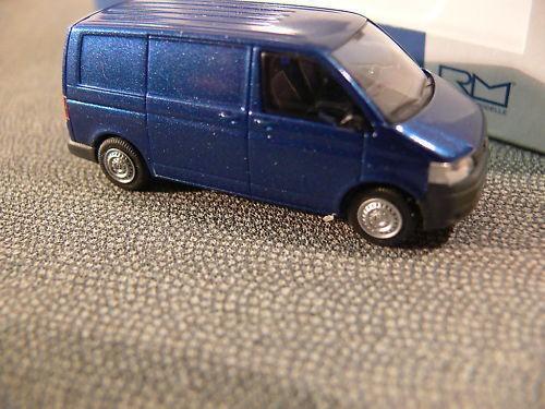 Rietze VW T5 GP KR Kasten blaumetallic -Einzelstück-