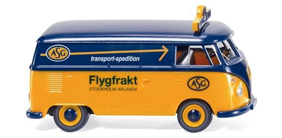 Wiking VW T1 Kastenwagen ASG- Transport Spedition -Einzelstück-