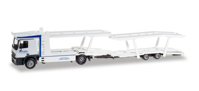 """Herpa MB Actros L 02 Auto-Transport-Hängerzug """"Akkermann"""" -Einzelstück-"""