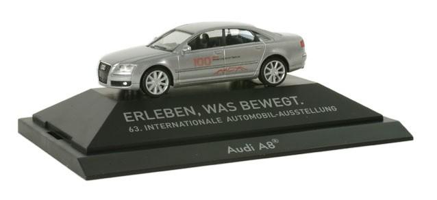 """Herpa Audi A8 """"IAA 2009"""""""
