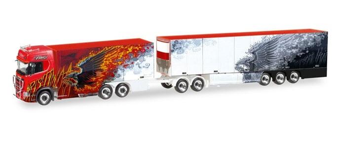 "Herpa Scania CS 20 HD Eurocombi ""Ristimaa Fire Bird"" (FIN)"