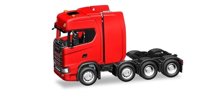 Herpa Scania CS HD Schwerlastzugmaschine, rot