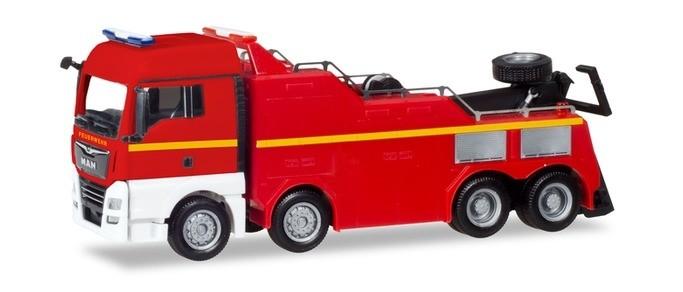 Herpa MAN Bergefahrzeug Feuerwehr,NH 11-12/18