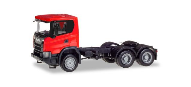 Herpa Scania CG 17 6x6 Zugmaschine, rot