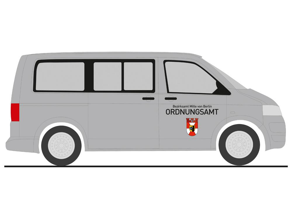 Rietze VW T5 Ordnungsamt Berlin-Mitte, NH 05-06/19,(Vorbestellung / Modell noch nicht lieferbar !!!)