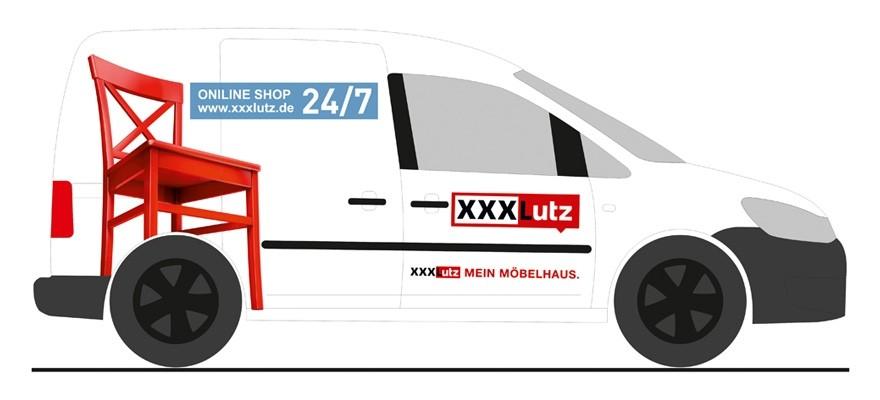 """Rietze Volkswagen Caddy ´11 """"XXXLutz mein Möbelhaus"""""""
