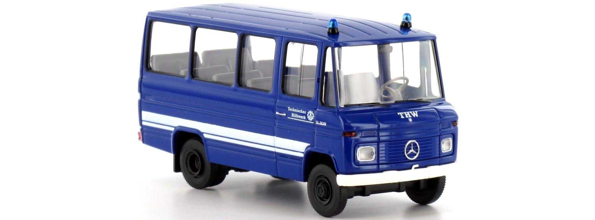 Brekina MB O 309 Bus THW